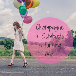 Champagne & Gumbootsis turning 1! (1)